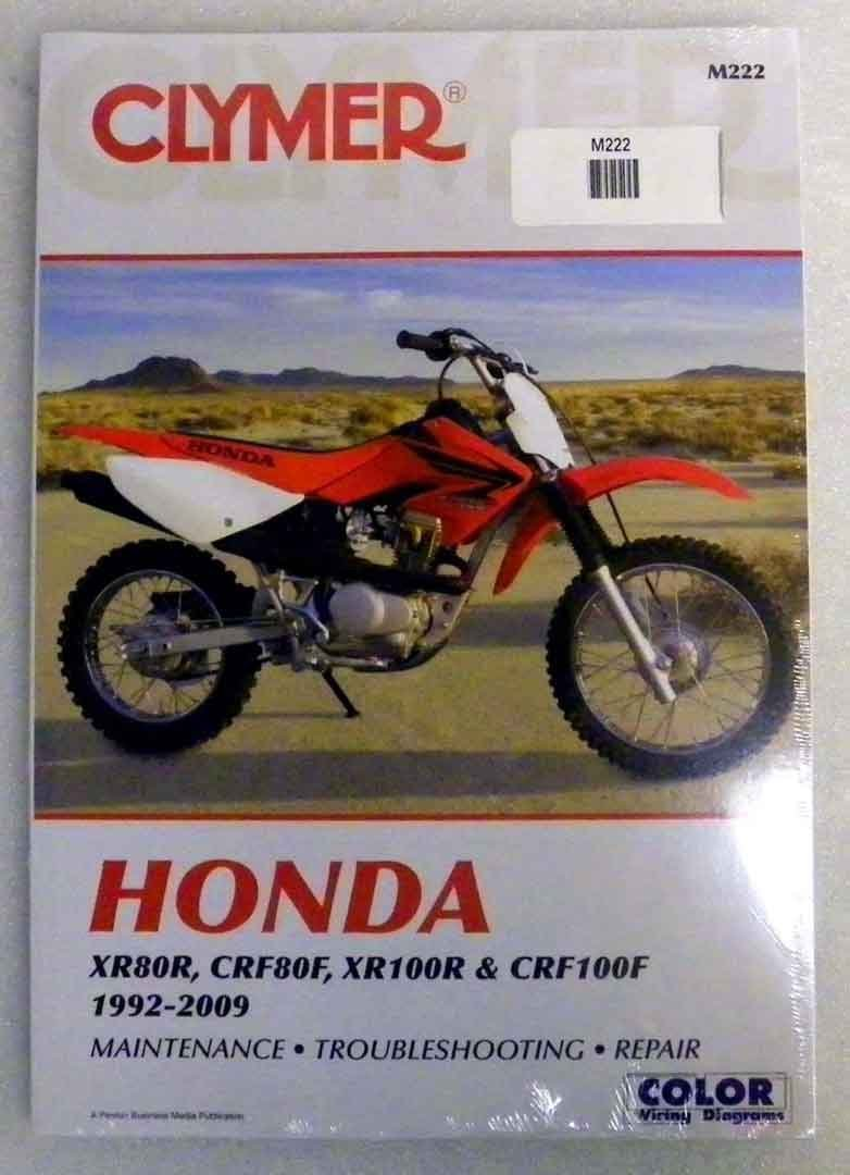 Get Quotations · ATV/Moto-X Honda Clymer Manual Models XR 80R, CRF80F,  XR100R,