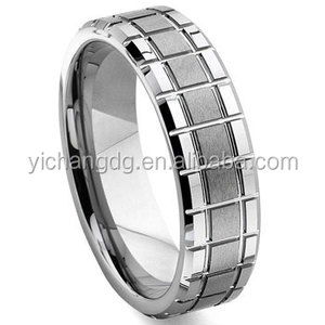 Tungsten Carbide Mechanic Design Wedding Band Ring, China Professional Fashion Jewelry Factory Tungsten Ring