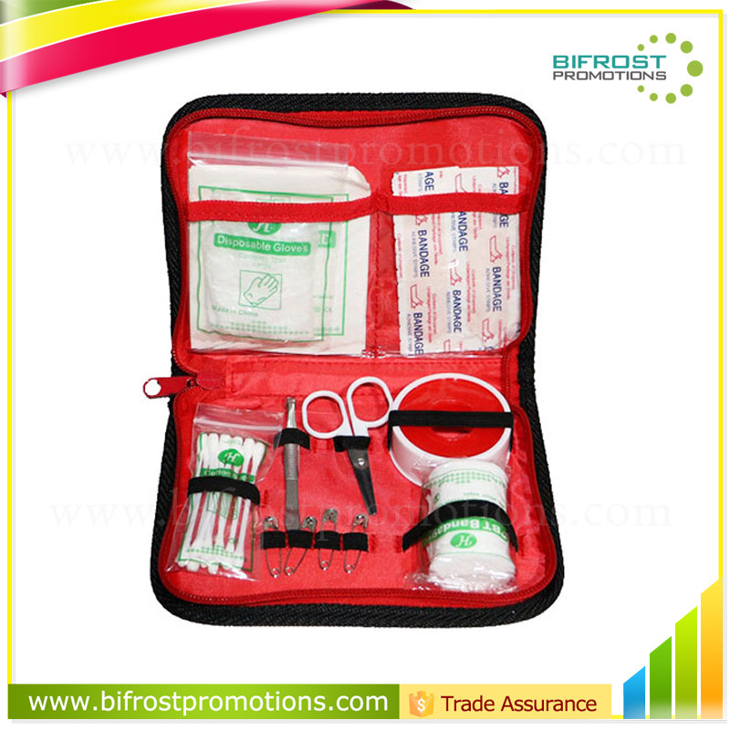 China Medical Supplies Mini Travel Kit Emergency survival First Aid Bag