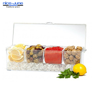 2014 High Quality large clear plastic container