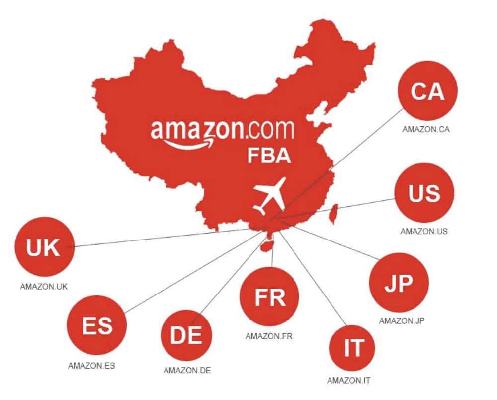 Top Shipping - Amazon cargo DDP shipment from Shenzhen to USA Canada UK