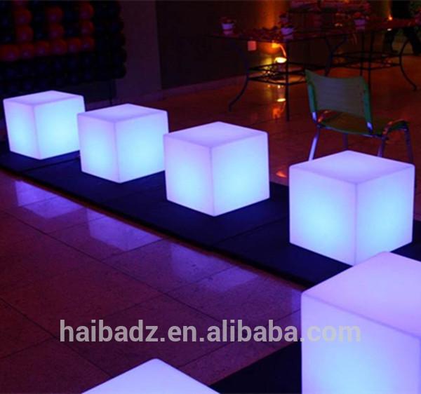 Barra de cobre al por mayor neo LED cubo asiento iluminación y LED ...