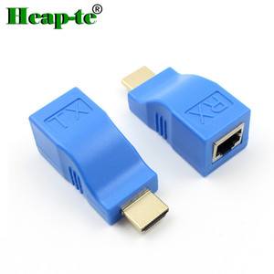 high speed 30m HDMI Extender by cat5e cat6 cable support HDMI 2.0 4k*2K