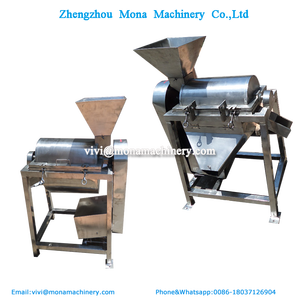one or Double channel fruit juice beater strawberry paste pulp mango beating machine