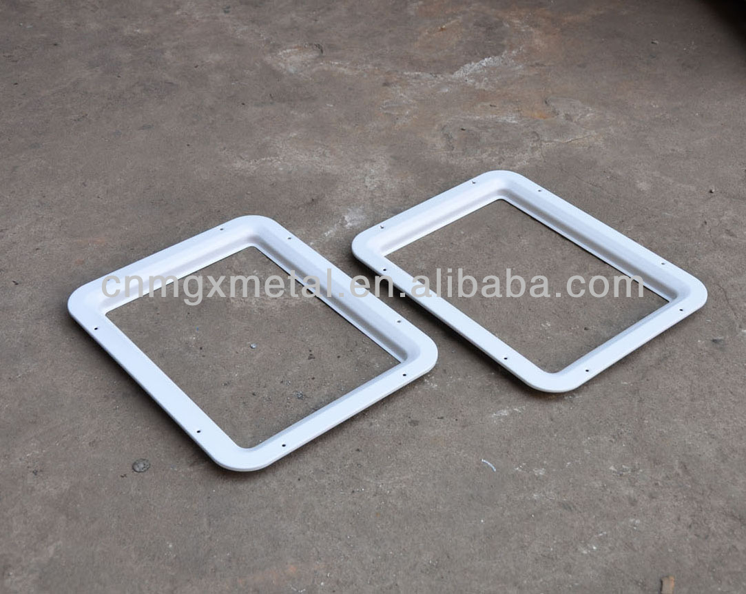Foshan factory sheet fabrication outdoor metal frames design