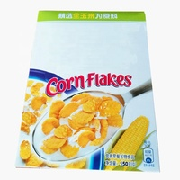 Custom Design Food Grade White Card Paper Nutritional Cereal Box Packing For Children