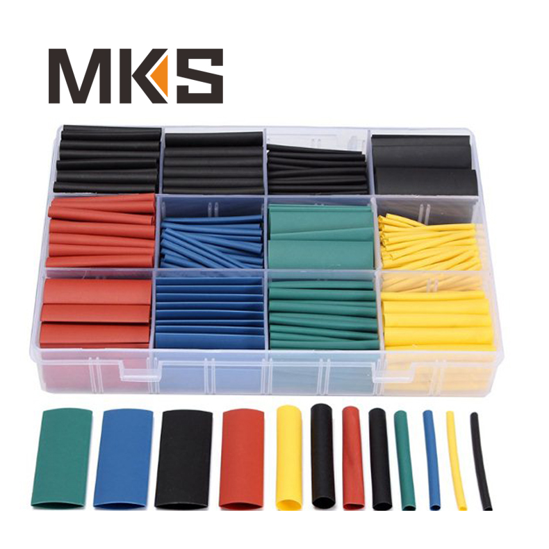 """160 pcs Brand New Thermosleeve 4/"""" Boxed Color Heat Shrink Tubing Kit"""