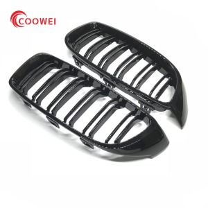 M Style F32 Car Kidney Grill for BMW 420i 428i 435i 440i M Sport 14-17 Glossy Black
