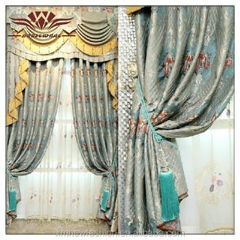 Hilton Luxuriöse Fenster Behandlung Vorhang Panel& Volant,Handarbeit ...