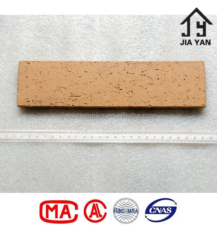 Various colour clay split brick for exterior wall decoration