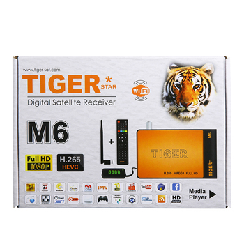 Tiger Star M6 free to air set top box and support iptv channels