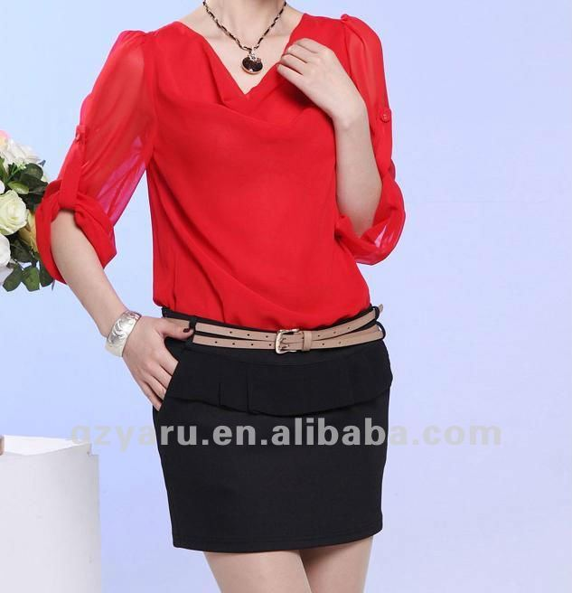 Ladies Office Wear Tops For Summer