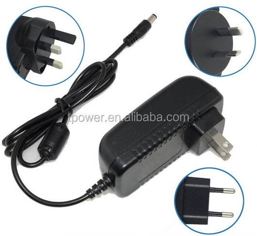 Great varieties, 14v 1a power adapter ZF120A-1401000, with UL CE FCC GS certifications