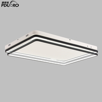 New products modern fancy square acrylic led lights without false ceiling light
