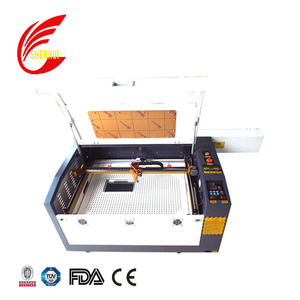 Factory supply 80w laser cut acrylic cake toppers machine