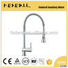 Safety Single lever sink mixer kitchen faucet with seperate hot and cold pipe---D