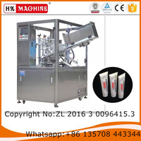 Cosmetic tube filling and sealing machine with CE certification for creams