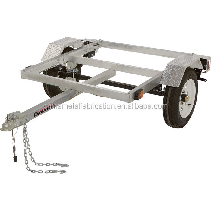 Kindleplate 4x4 aluminium atv utility trailer by China manufacture
