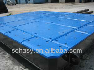 High density polyethylene sheet for dock fender UHMWPE board