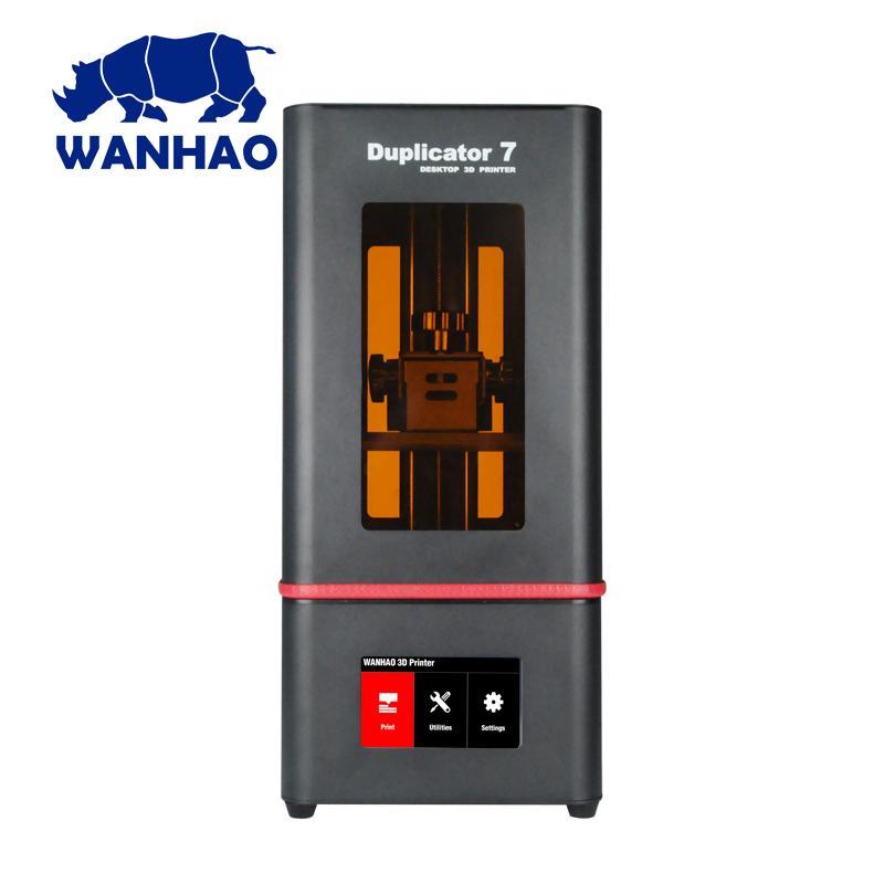 2019 הכי חדש Wanhao D7 בתוספת DLP SLA LCD מגע מסך 3D מכונת מדפסת שרף תמיכה