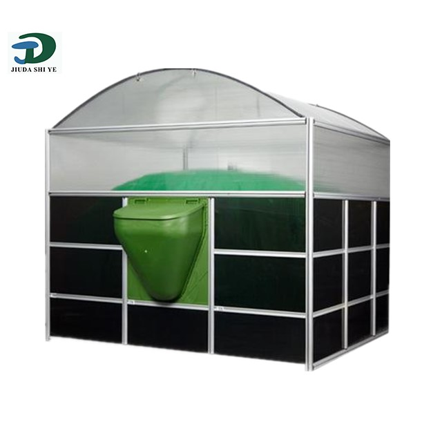 Kingdo Small Size Biogas Fuel Plant/Digester for cooking fuel