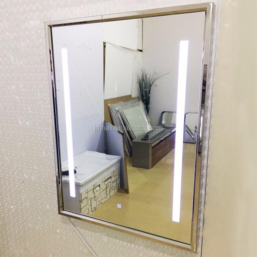 Espejo De Baño Led De Acero Inoxidable De Lujo - Buy ...