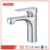 Cheap deck mounted single hole bathroom faucet assembly