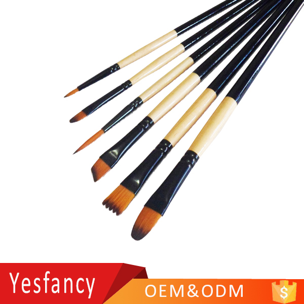 hottest nylon hair wooden handle water brush pen