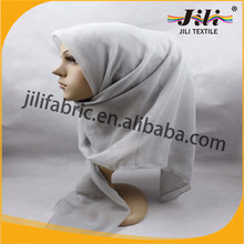 Hot selling polyester voile turkish muslim headscarf