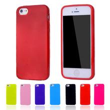 Silikonový obal na mobil apple iphone 5, 5s – sladké barvy