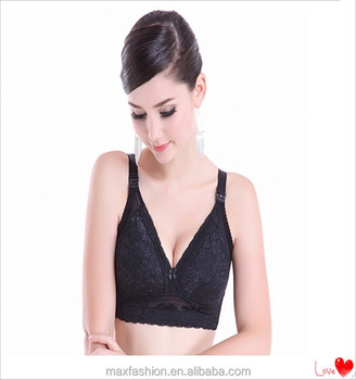 c7d6a16fb60 Wholesale Sexy Nursing Lingerie China Maternity Bra For Big Size With Soft  Memory Wire
