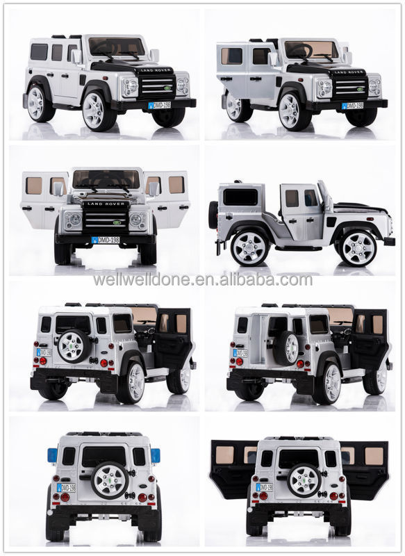 WDDMD198 Popular Licensed Land Rover Baby Sit Car, Double Door Open, Paint Color Optional Fashion Toy