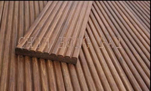20MM thickness outdoor decking bamboo flooring/Strand weaven/Waterproof/ Chunhong Brand / CE