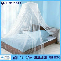Conical Circular Folding portable mosquito net Bed Canopy for King Queen double bed