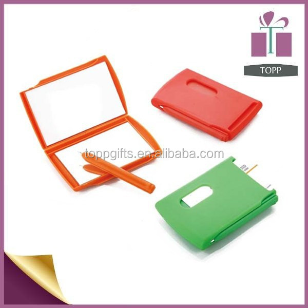 Notebook With Pen Mirror Card Holder Chinese Diary Notebook