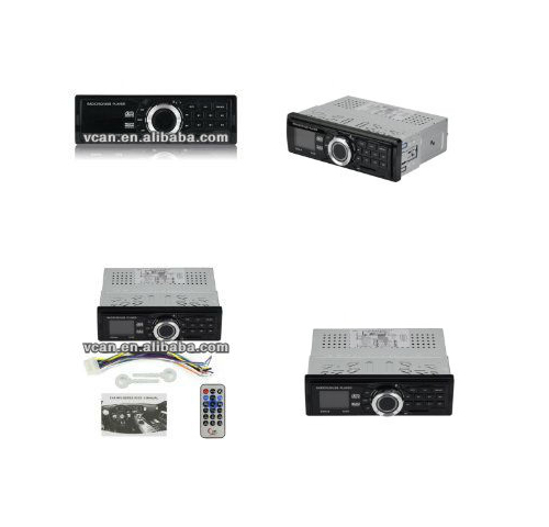 Car MP3 player FM MPX receiver18FM SD/MMC with USB dvd player with usb and memory card VCAN0607