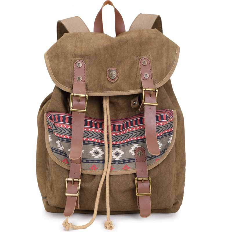 2015 School Bag Women Backpacks for Teenage Girls and Boys Rucksack Canvas Backpack Brand School Backpack Daypack Shoulder Bag