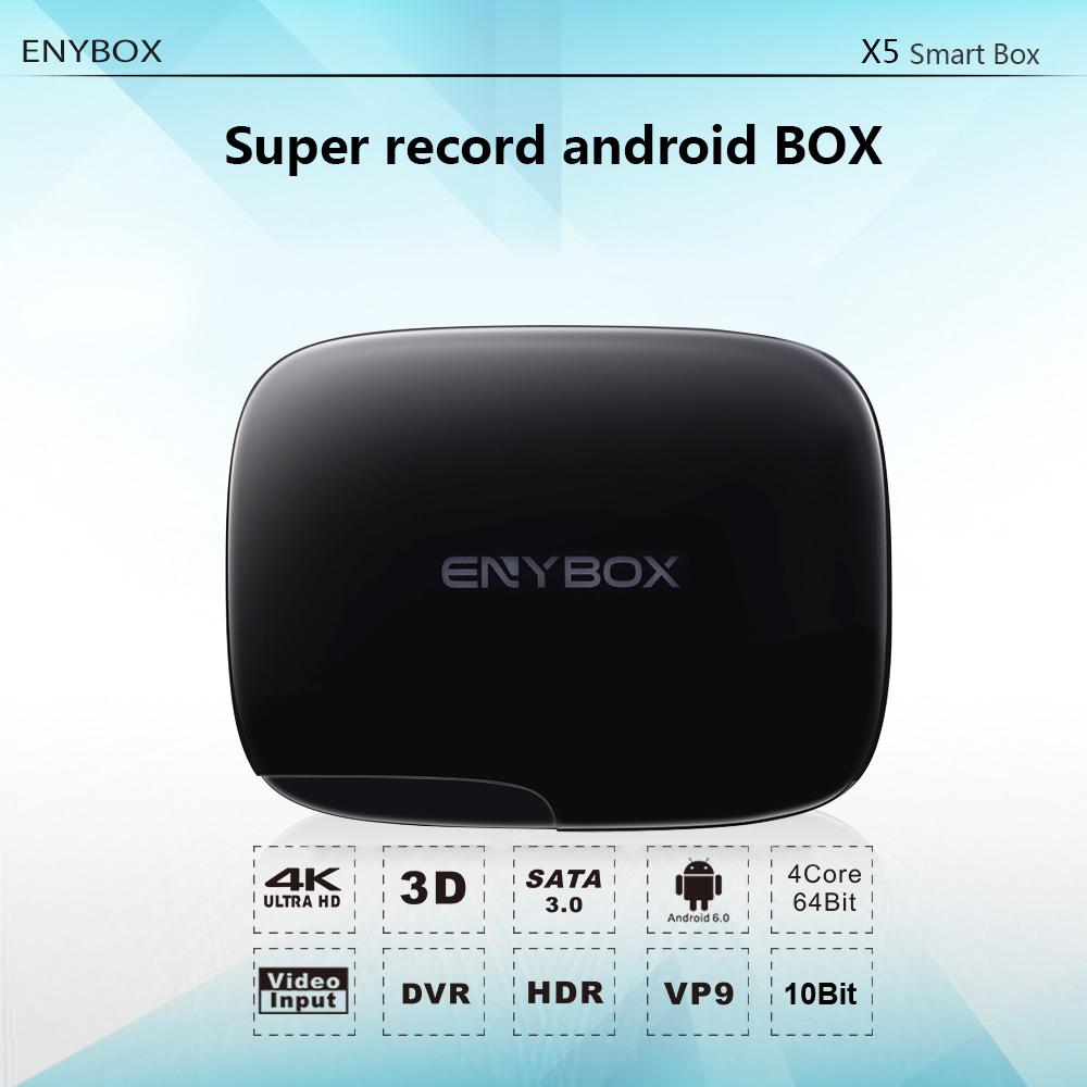 Enybox X5 Smart Tv Box Realtek Rtd1295 Android Tv Box With Usb 3 0 Hdmi  Input & Output Battery Mini Pc Rtc Rj45 Gigabit Ethernet - Buy Enybox X5  Smart