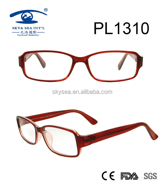 Customizable Cheap thick optiacal frame, plastic eyewear