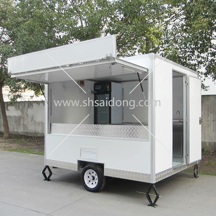 Best Design Dining Cart Used Food Trucks Mobile Kitchen For Sale