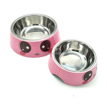 SGS food grade stainless steel animals feeder bowl