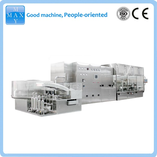 pharmaceutical Ampoule and vial filling sealing machine