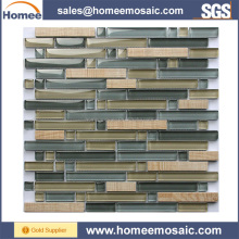 New things for selling grey glass stone mosaic high demand products in market