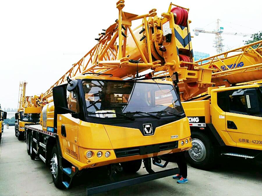 Guincho hidráulico XCT16 16 toneladas pequeno móvel pickup guindaste guindaste do caminhão com preço baixo para venda