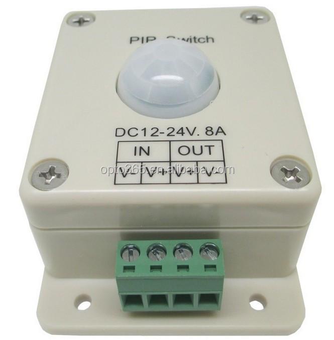 Led Lighting Motion Sensor Switch 12 Volt Dc Infrared Pir Light On ...