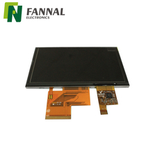TFT LCD <span class=keywords><strong>5</strong></span> zoll touchscreen display-modul 800480