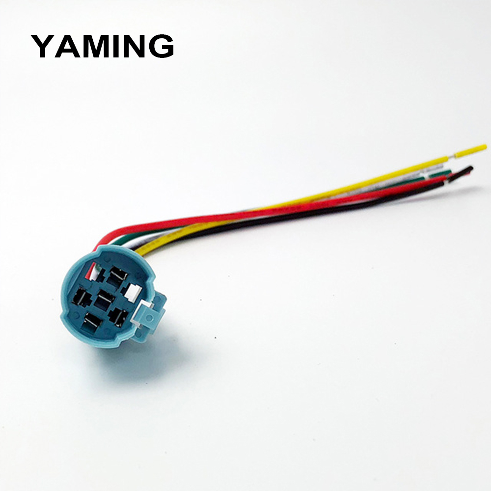 16mm 5 Pins Wire Connector For Metal Push Button Switch Ring Led Momentary Wiring Further On Waterproof Auto Engine Car