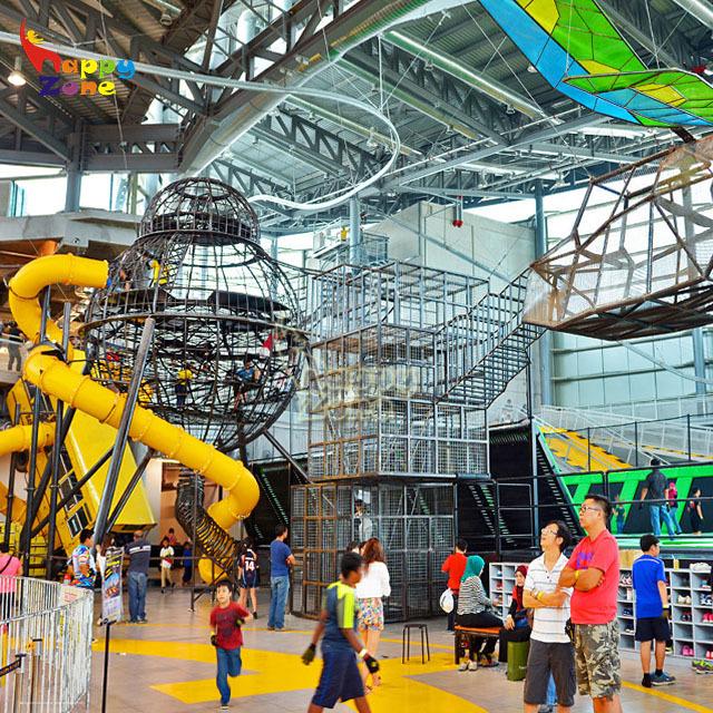 Source Customized Indoor Zip Line Trampoline Adventure Park Customized Zipline Roller Coaster On M Alibaba Com