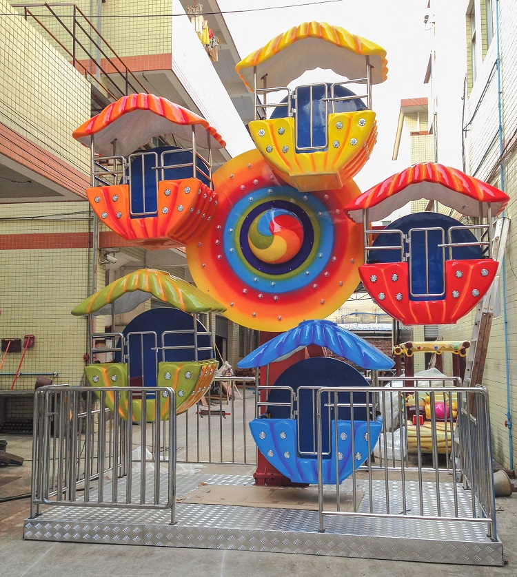 Producing Large Outdoor Playground Equipment Ferris Wheel Amusement Park Ride