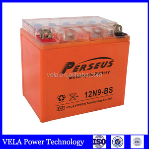 gel motorcycle battery 12v 9 ah Green environmental protection